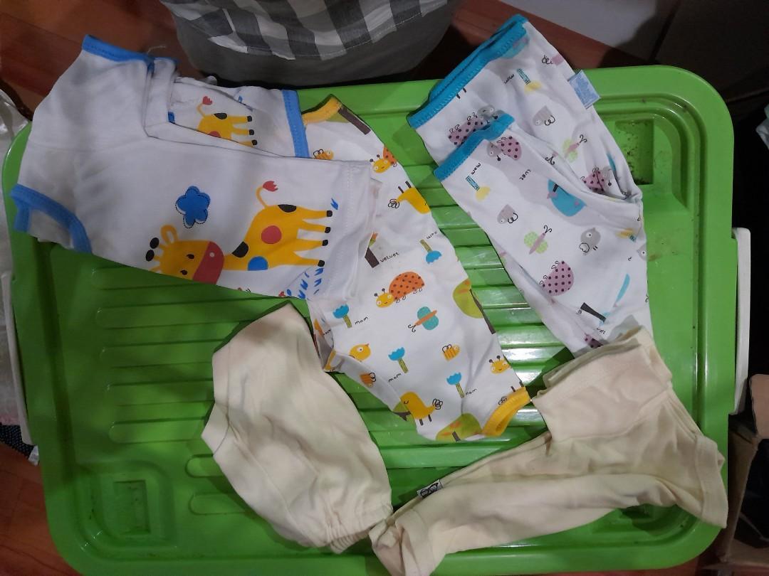 Baju bayi, ambil semua di foto