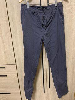 Giordano 鐵灰長褲