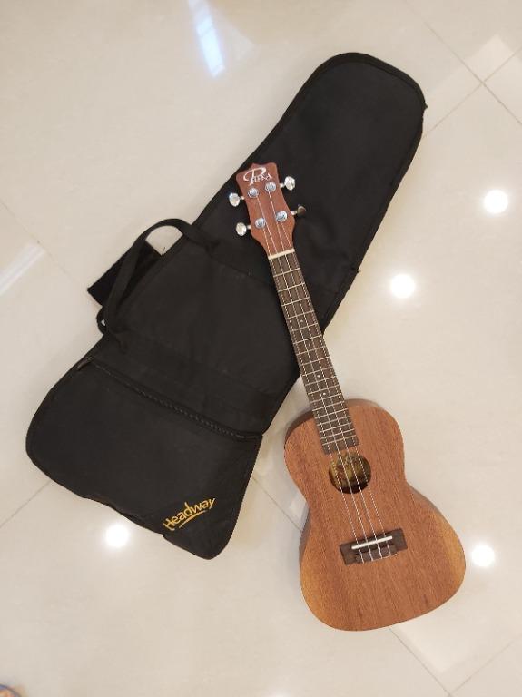 Headway 21吋原木 ukulele 烏克麗麗PUKA (含背帶)