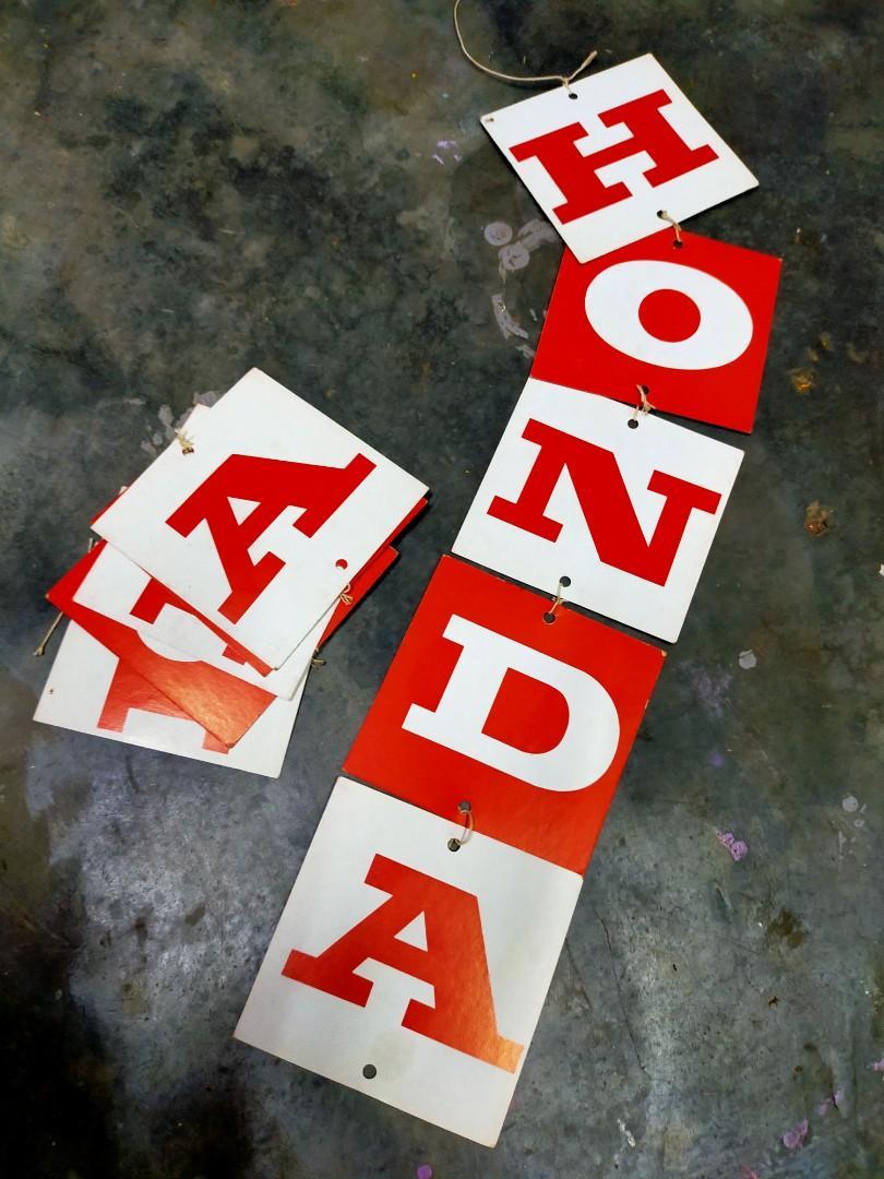 Honda advertisment