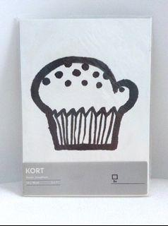 "IKEA Kort art cards by Susan Josephson. Pack of 5. Size 5"" x 7"". New"
