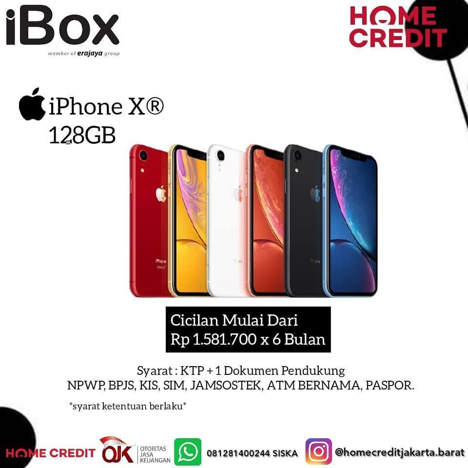 IPHONE XR CICILAN BY HOMECREDIT 3 MENIT CAIR