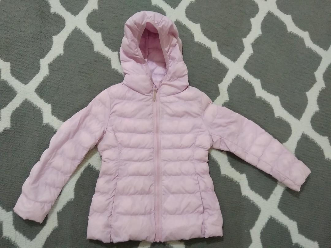 Jaket anak uniqlo pink