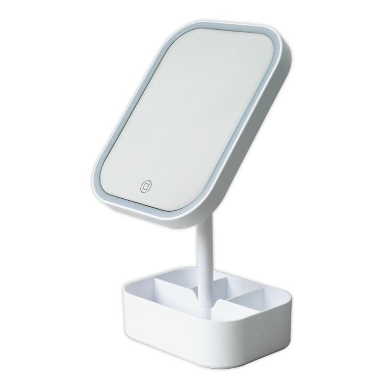 LED美妝鏡 置物美肌化妝鏡
