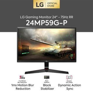 LG Monitor Gaming 24inch