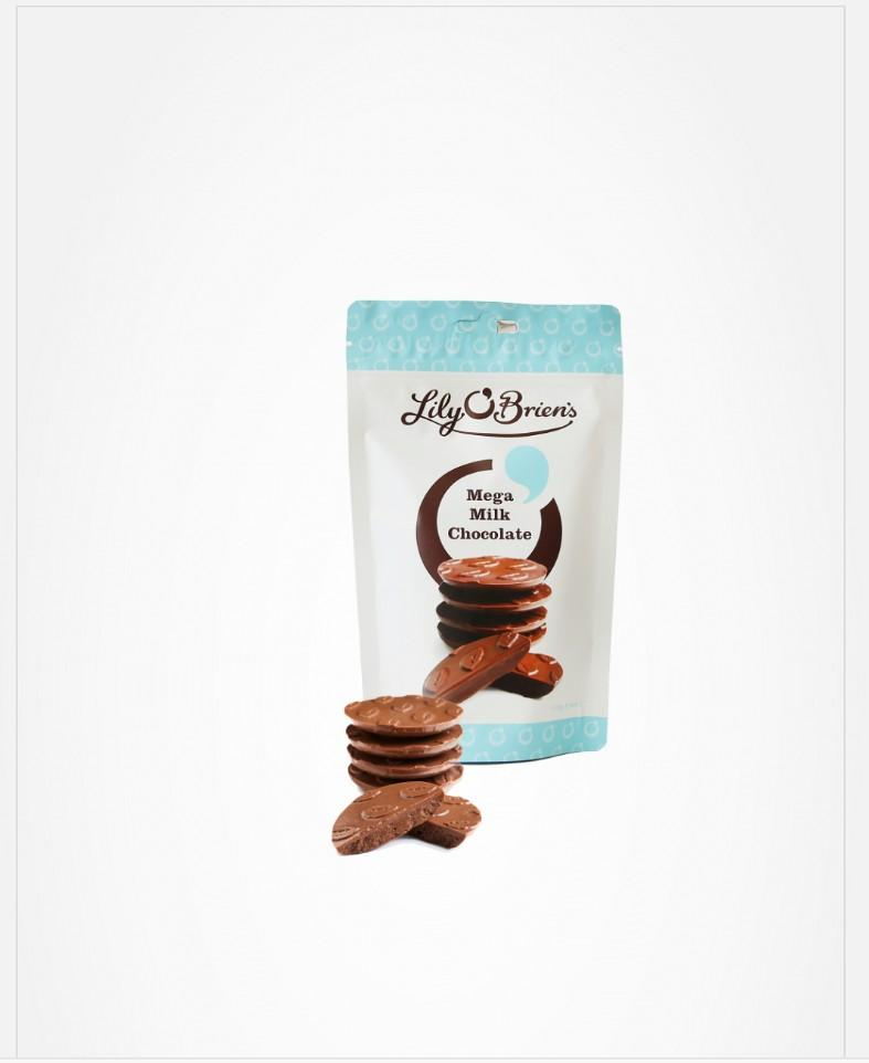 LILY O'BRIEN'S MEGA MILK CHOCOLATE