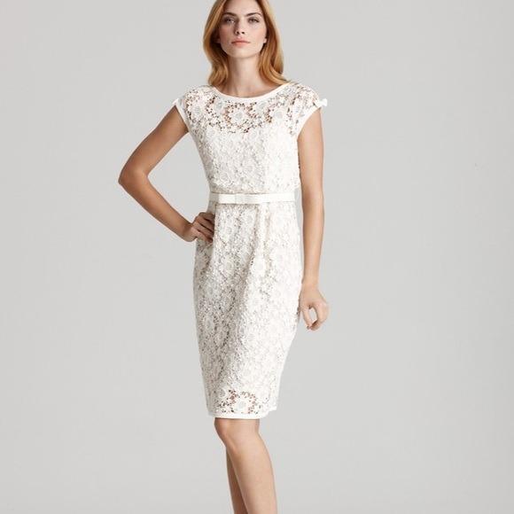 Nanette Lepore Lace Midi Dress (Size 2)