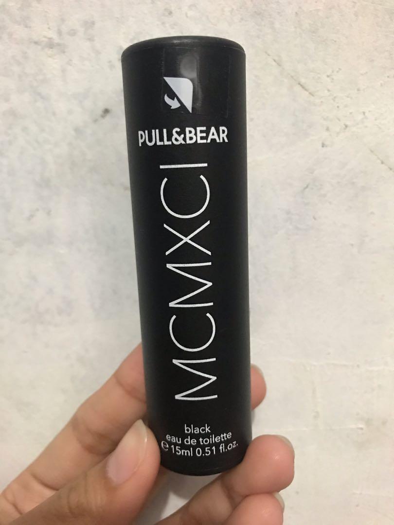 NEW !! Pull&Bear EDT Black for man isi 15ml