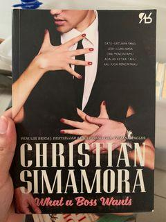 Novel What a Boss Wants by Christian Simamora