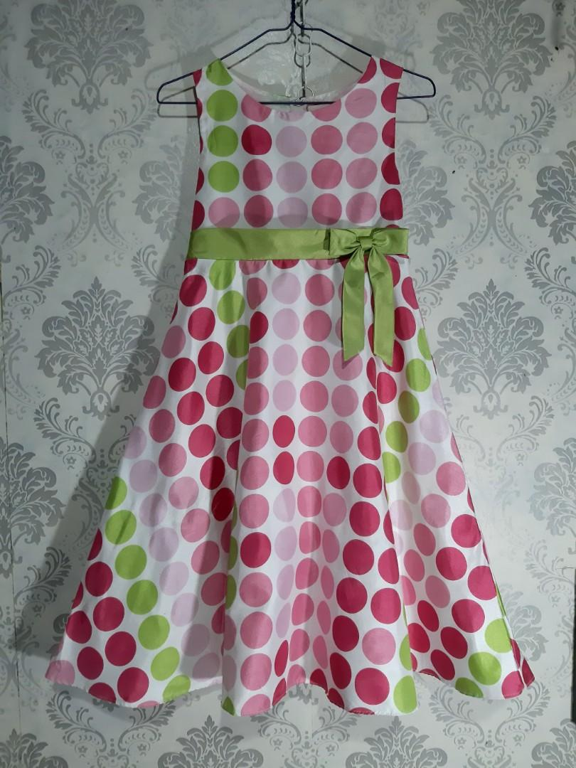 Pink Gown 10-12y
