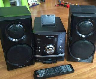 Pioneer dvd micro system minus dvd tdk mutar dan tanpa remot