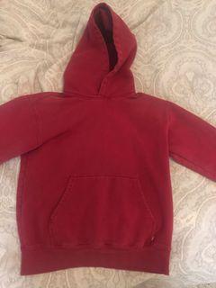 Red aritzia sweater