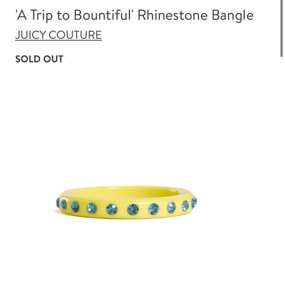 Rhinestone Bangle (One Size, Juicy Couture)