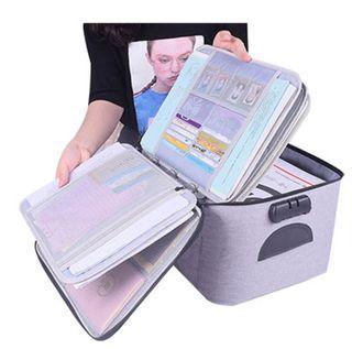 Ring Binder Document Storage Bags 20CM