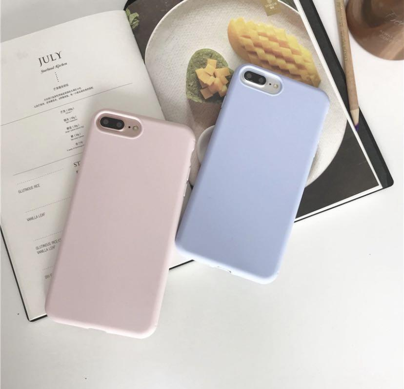 【Soft case】 Pure color simple style wine red dark green For iPhone 6/6s/7/8 Plus / X / XS / XR / XS MAX / 11/11 PRO / 11 Pro MAX / SE2 case