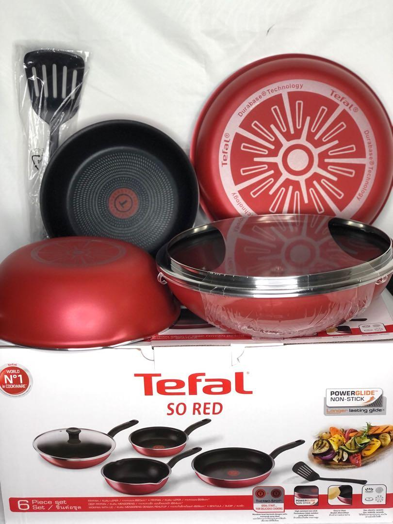 Tefal so red no. Stick