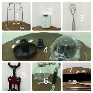 贈物 廚藝咖啡用品區七件 可一次索取全部