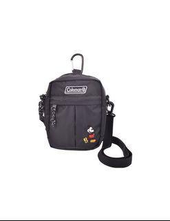 🌱現貨 日本限定🇯🇵 Coleman× Disney 迪士尼 米奇側背肩背隨身戶外旅遊小包