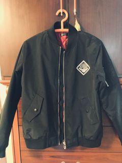 新 Laking 潮流 飛行外套 黑色 飛行夾克