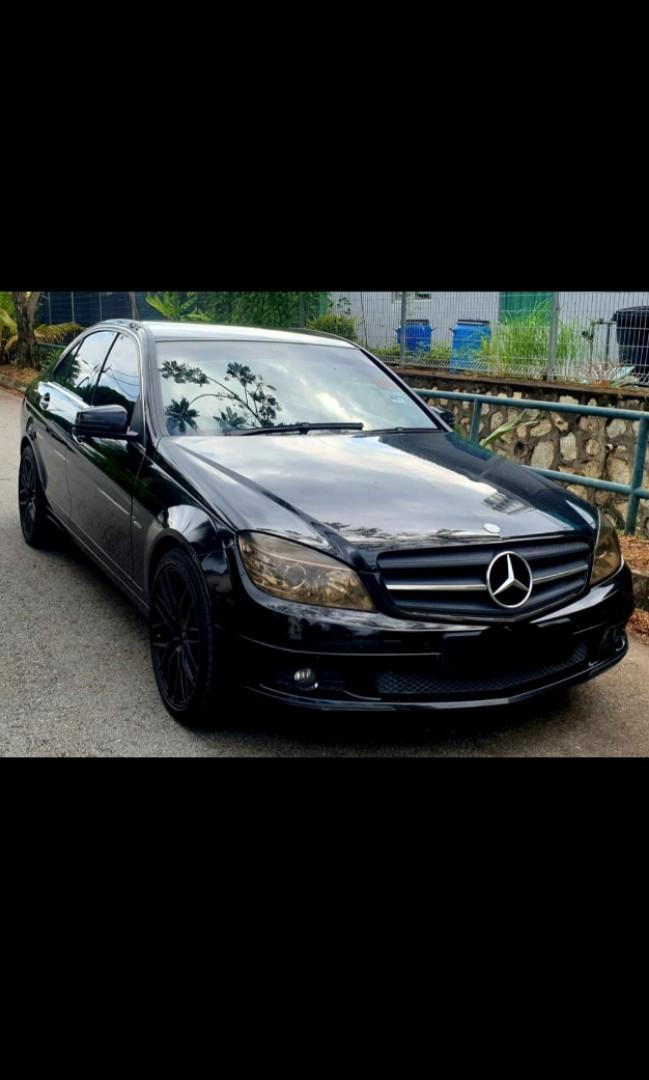 _*OFFER RAYA  OOOOHOII📢📢*_  MERC C200 YEAR 2010 RUNNING CONDITION GOOD NICE AND CLEAN INTERIOR MAJOR SERVICE DONE COLLECT KL