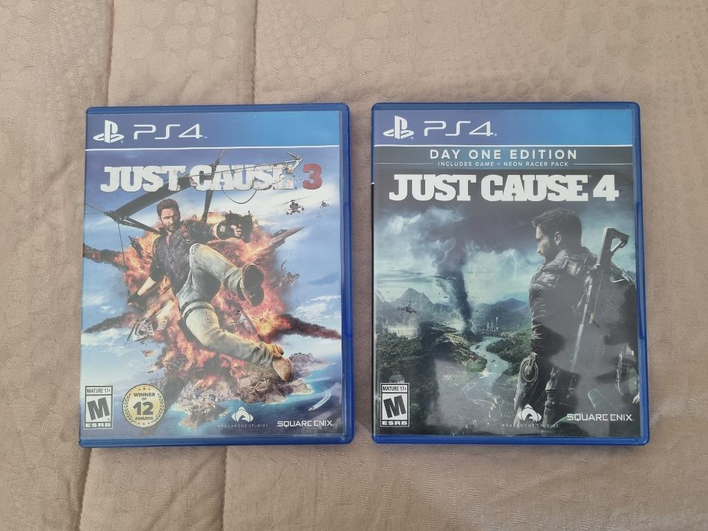 (AVALANCHE BUNDLING) Just Cause 3 & 4 - PS4 Game