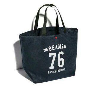 BEAMS毛呢購物包/托特包/日本帶回/日本限定全新品