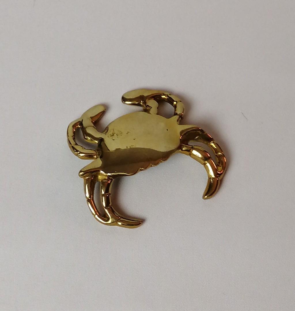 Brass Crab Bottle Opener