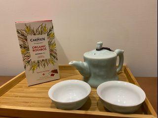 Carmién南非博士茶 國寶茶 三角立體茶包 低卡、無糖零咖啡因