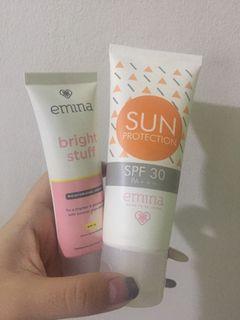 Emina Sun Protection & bright stuff [60.000 GET 2]