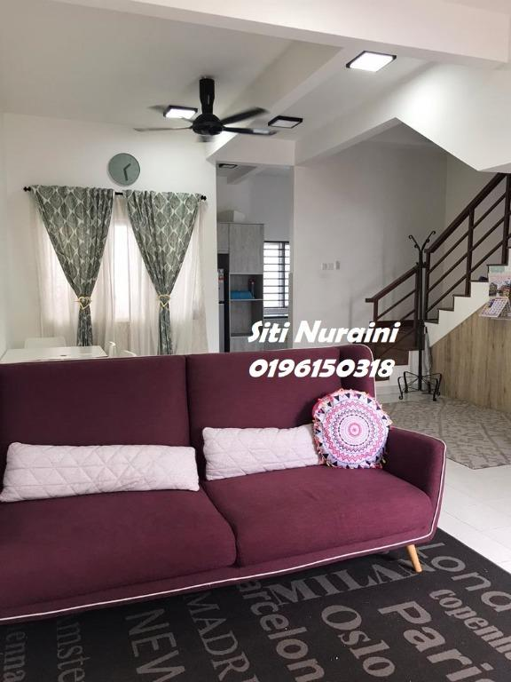 End Lot Partially Furnished 2-Storey, SUCI Bandar Ainsdale