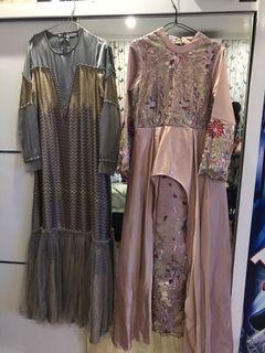 Gamis dress muslim mewah