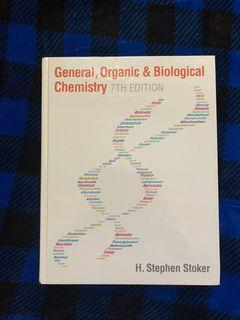 General organic and biology chemistry textbook