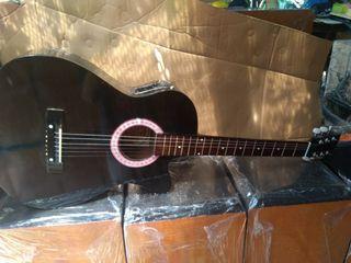Gitar akustik elektrik gitar baru