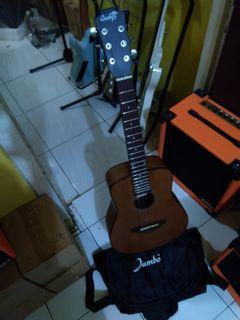 Gitar akustik string cowboy mini