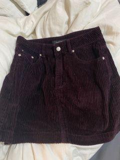 glassons corduroy skirt