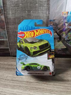 Hot Wheels - 2018 Bentley Continental GT3