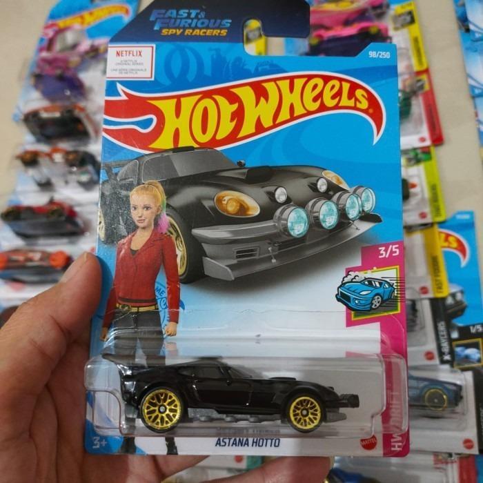 Hot Wheels Hotwheels Astana Hotto Hitam Lot D 2021 Diecast
