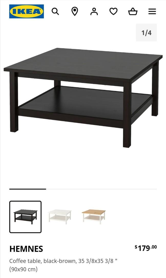Ikea: HEMNES Coffee Table