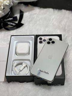 iPhone 11 Pro Max 64GB Bekas Mulus Murah Matte Silver