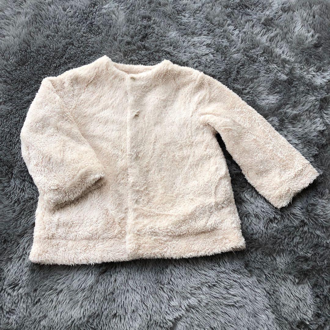 Jaket Bulu Bolak Balik Anak