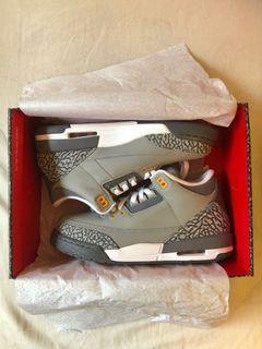 Jordan 3 Cool Grey