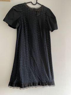 KAO(高美芬)裸空蕾絲洋裝
