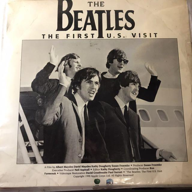 laserdisc the beatles