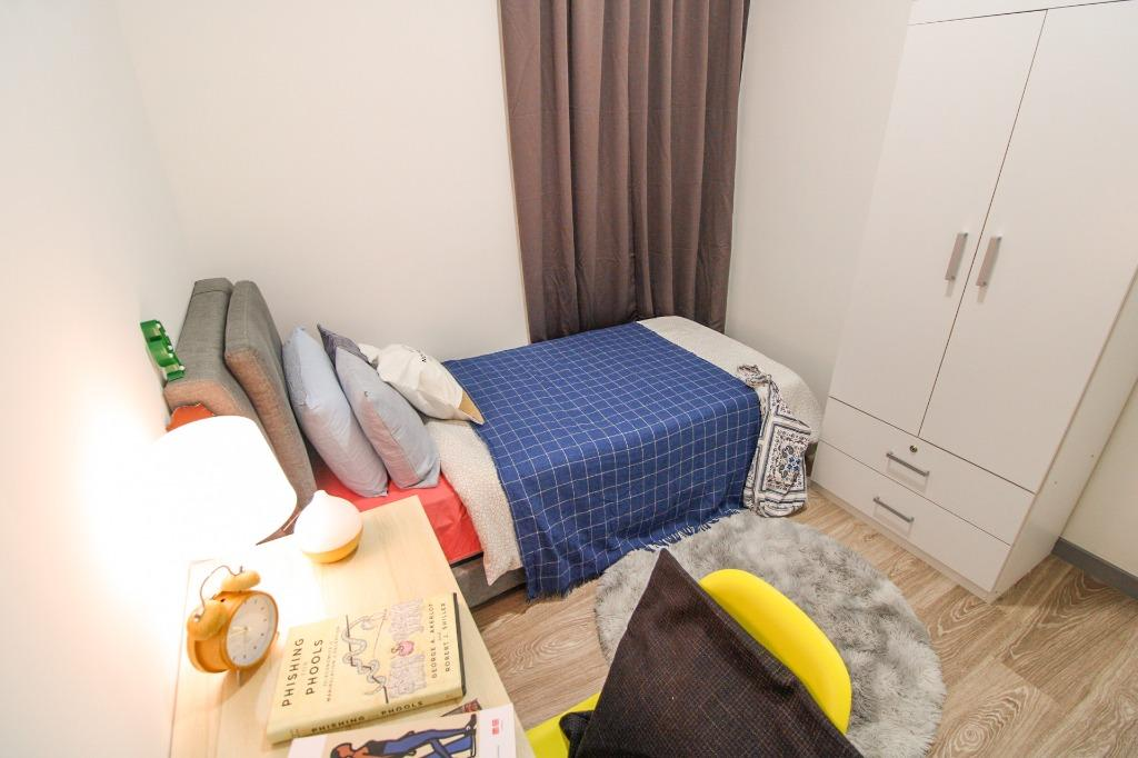 LAST ROOM Rental Fully furnished with FREE WiFi & Daily Cleaning near to Segambut & Kepong!!