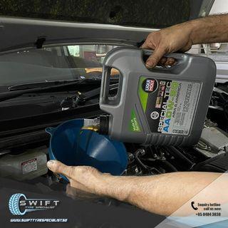 Liqui Moly Special Tec AA 0W20 Engine Oil Car Servicing