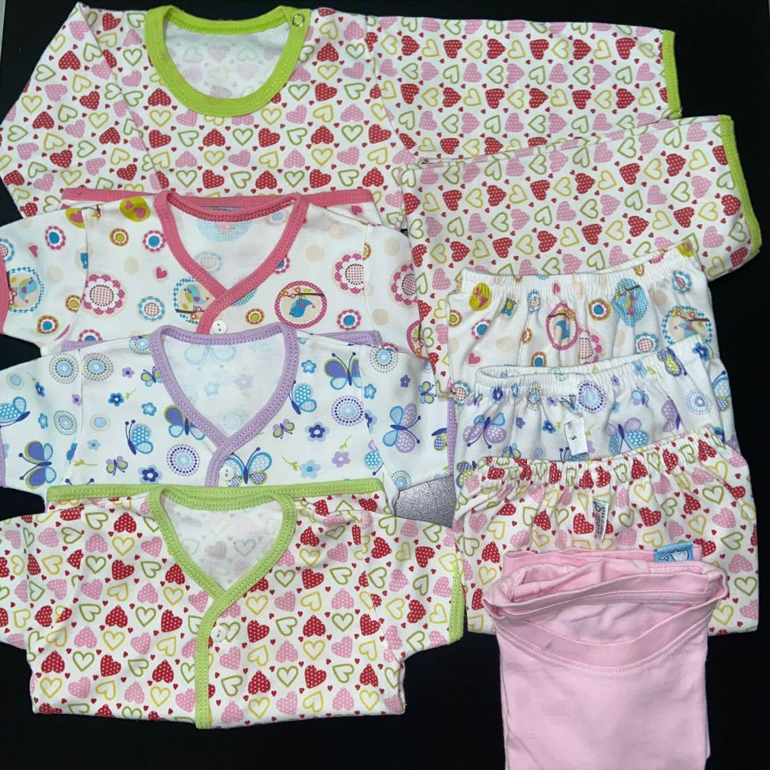 Little Q baju setelan bayi perempuan