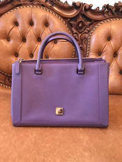 Mcm crossbody purple bag