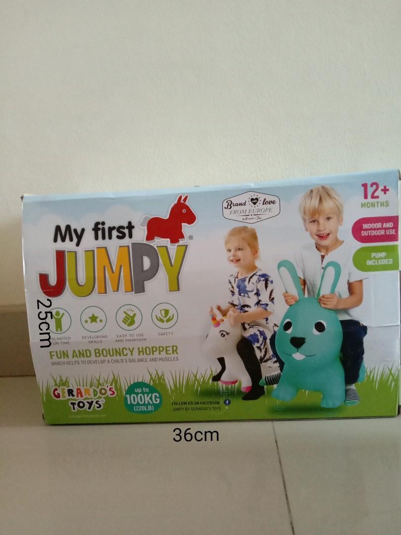 My first JUMPY
