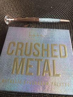 Nicole Miller New York Crushed Metal