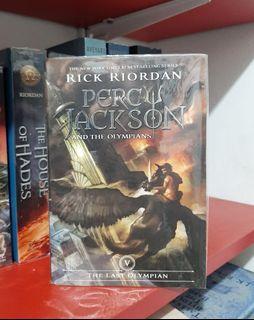 Preloved Novel Import: Percy Jackson #5 PB   YA   Fantasy   buku import